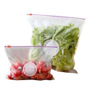 ODN Reusable Fresh Zipper Bag Freezing Heating Plastic Food Storage Bag Versatile Vacuum Preservation Sealed Bag