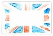 Self Adhesive Union Jack Labels - Vintage Union Jack Perfect for Royal Weddings, Celebrations, British Made Products
