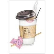 Mary Lake-Thompson Coffee to Go Cotton Flour Sack Dish Towel