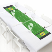 You Got Served - Tennis - Petite Baby Shower or Tennis Ball Birthday Party Paper Table Runner - 30cm x 150cm