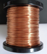 5m x 0.8mm Round Copper Wire for Crafting and Jewellery Making UK Seller