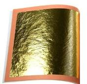 24CT Gold leaf Gilding - 60 Gold sheets, 4.5cm x 4.5cm