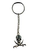 Skull and Crossbones Key-ring