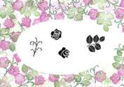 Card-io English Rose Peg Stamps