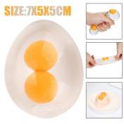 Singular-Point Funky Egg Splat Ball Squishy Toys Stress Relief Eggs Yolk Balls For Children