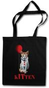 Kitten Shopper Reusable Hipster Shopping Cotton Bag