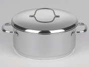 """""""Crystal"""" Casserole Dish Stainless Steel 20 CM"""