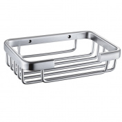 Thicker Aluminium Alkaline Soap Basket Baskets Toilet Baskets Bathroom Cosmetics Basket