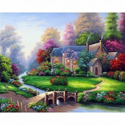 5D DIY Diamond Painting,NACOLA Rhinestone Pictures Of Crystals Embroidery Kits Arts Crafts & Sewing Cross Stitch-Scenery 6