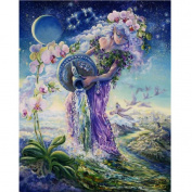Yilianda DIY 5D Diamond Painting, Crystal Rhinestone Embroidery Pictures Arts Craft for Home Wall Decor Beauty Angel