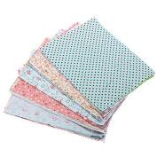 Bazaar 10Pcs DIY Bundle Mixed Craft Cotton Fabric Material Scraps Offcuts Bag