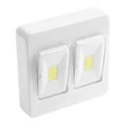 Demiawaking COB LED Small Wall Night Lights Switch Garage Closet Lamp Indoor Lighting
