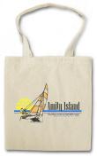 Amity Island Surfing II Shopper Reusable Hipster Shopping Cotton Bag