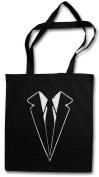 Suit Shopper Reusable Hipster Shopping Cotton Bag