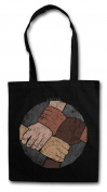 United Shopper Reusable Hipster Shopping Cotton Bag
