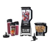 SharkNinja BL687CO Kitchen Nutri Blender System, Silver/Black