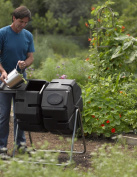 Dual-Batch Compost Tumbler