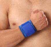 JIANGU Sports Bracers, Adjustable Hand Wrap, Pressure Wrist Support, Basketball Badminton Volleyball Fitness Sweat Sweatband