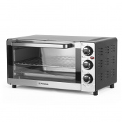 Westinghouse Toaster Oven, Countertop Convection Stainless Steel Oven Temperature Control; X-Large 6 Slice