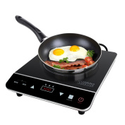 Cosmo Portable Induction Cooktop Countertop Burner for Dorms, Boats, Patios and RVs, Black