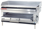 Grindmaster-Cecilware HDB2031-NAT Natural Gas Stainless Steel Griddles/Cheese Melter, 60000 BTUs/Hour