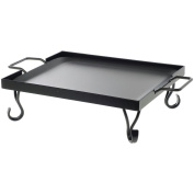 American Metalcraft 1/2 Size Griddle with Wrought Iron Stand, 16 x 41cm x 13cm -- 1 each.