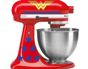 Deluxe Wonder Woman mixer decals for KitchenAid stand mixers