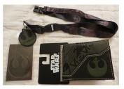 Star Wars Rogue One Wallet and Lanyard Bundle Set