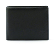 Timberland Man Wallet Trifold With Coin Pocket Colour Black M4315