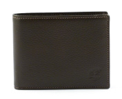 Timberland Man Wallet Trifold With Coin Pocket Colour COCOA M4315