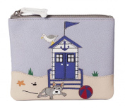 Beau on the Beach Coin Purse - RFID Protection. Mala Leather. Comes with Dust Bag