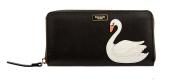 Kate Spade Swan Around Neda Zip Around Wallet WLRU3094