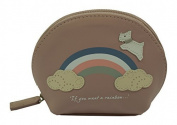 Radley Small Leather Coin Purse Rainbow Dusky Pink