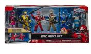 Power Rangers Ninja Steel Epic Hero Set Action Figure 6-Pack