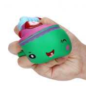 Squishy 9.5cm Cute Cake Stress Reliever Toys Ounice Squishy Slow Rising Cream Scented Squeeze Decompression Toy for Kids Adults