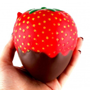 Squishy Strawberry Stress Reliever Toys Ounice Squishy Slow Rising Cream Scented Squeeze Toy for Kids Adults