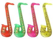 4pcs Inflatable Saxophone Fancy Dress Accessories Hen Party Wedding, Kids Toys