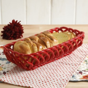 The Pioneer Woman Timeless Beauty 35cm Red Bread Basket
