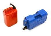 Integy RC Model Hop-ups OBM-032 Realistic Jerry Can Gas Fuel Tank & Water Can for 1/10 Scale Rock Crawler