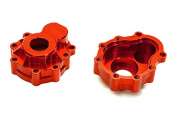 Integy RC Model Hop-ups C27975RED Billet Alloy Portal Outer Housings for Traxxas TRX-4 Scale & Trail Crawler