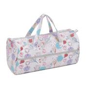 Knitting Bag (Fabric Handles) - Notions - Hobby Gift MR4698\440 - 16 x 43 x 19cm
