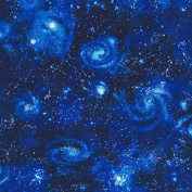 Robert Kaufman Patchwork Fabric Galaxy Royal Blue - Sold Per 1/4 Metre