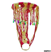 Home Decorative Indian Handmade Macrame Showcase Piece Home DIY Brand Knitting Rope