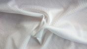 Cheap Jersey Fabric Polyester Halloween 147cm width. Sold by the metre, Free Delivery - White