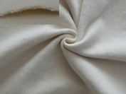StoffBook natural colour HEAVY 2X ROUGHENED COTTON FABRIC 850G-3MM-KALMUK MATERIAL, b695