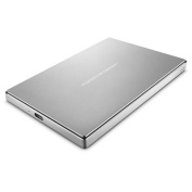 Lacie 2TB Porsche Design , USB Type-C Mobile Drive , Included USB-C Cable , and USB-C to USB adapter