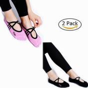Women Non Slip Skid Pilates Yoga Socks Dance Mat Massage Socks Best Fitness Dance Pilates Ballet Barre Sports Socks Full Toe Ankle Fall Prevention Grip Socks UK Size UK 2.5-7/ EU 35-40