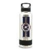 HOUSTON ASTROS SS STAINLESS STEEL DOUBLE WALL INSULATED THERMO WATER BOTTLE -
