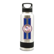NEW YORK YANKEES STAINLESS STEEL DOUBLE WALL INSULATED THERMO WATER BOTTLE -