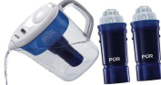PUR Ultimate 7 Cup Pitcher with LED & Lead Reduction Water Filter W/ 2 Extra Filters